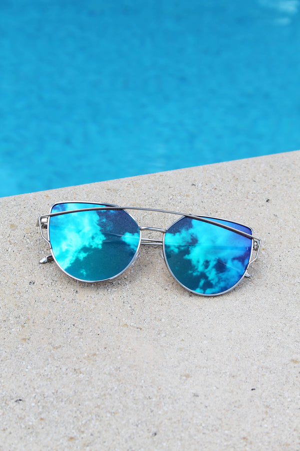 Lunettes de Soleil Sunshine of Your Love - Bleu