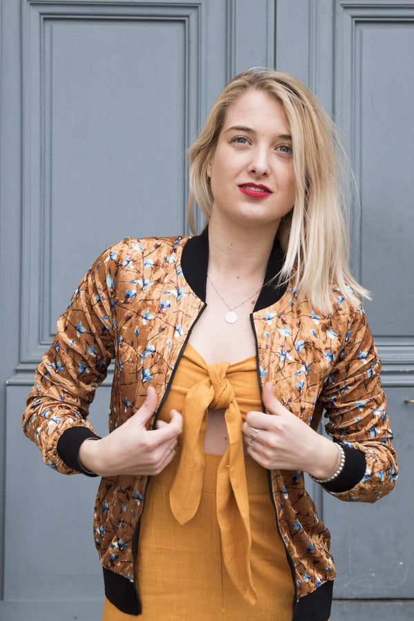 Absolème eshop mode bomber velours
