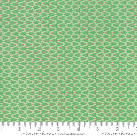 Swell Christmas Green Trees 31125-19 by Urban Chiks