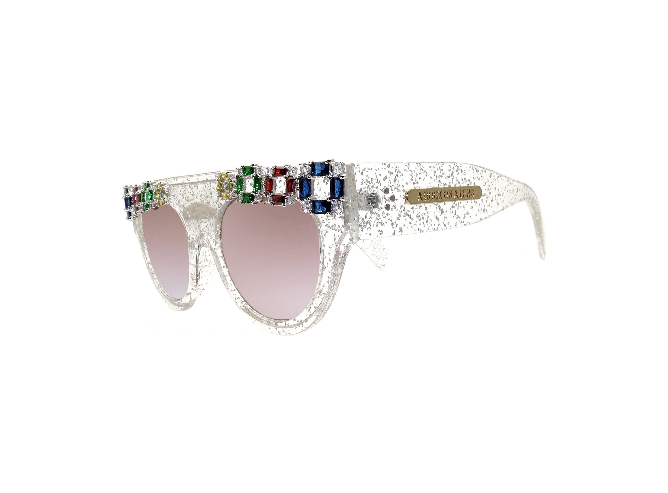 NATALIA Embellished Sunglasses