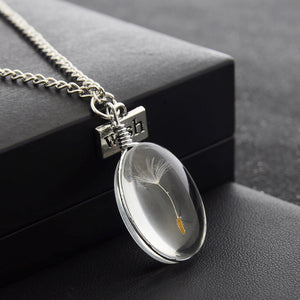 Make A Wish Dandelion Seed Necklace