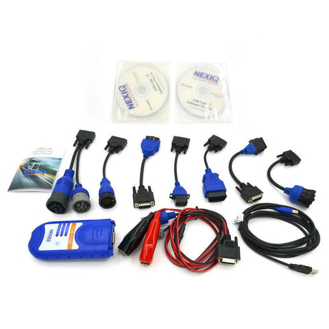 NEXIQ 125032 USB Link Diesel Heavy Duty Truck Diagnostic Tool +Software FULL SET