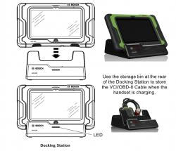 Bosch ADS 625 Diagnostic Scan Tool with 10-in Display