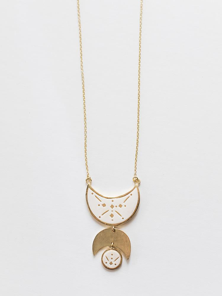 The Moon Child Necklace by Mata Traders