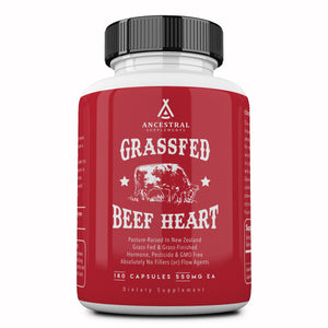 Grass Fed Desiccated Beef Heart Supplement