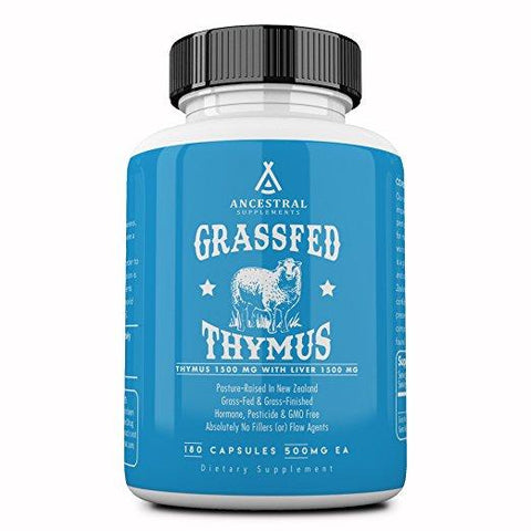 Grass Fed Thymus With Liver