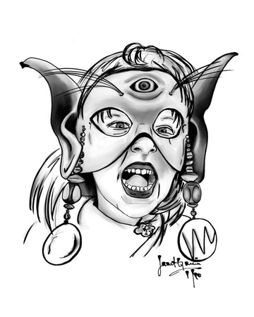 Digital Inks - The Mask