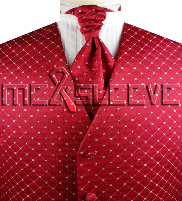 Red Vest | Red Waistcoat | Wedding Vest | Wedding Waistcoat | Formal Vest | Formal Waistcoat | Menswear | Formal Wear | 24hr Menswear | Boys Suits | Mens Suits