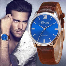 2017 Retro New Design Mens Watch Faux Leather Band Analog Quartz Wrist Watch For Men Male Clock Wristwatches relogio masculino