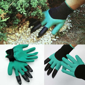 Universal Breathable Solid Color Garden Household Gloves Waterproof Non-Slip Beach Protective Garden Gloves For Digging