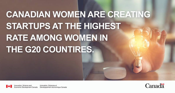 When I read this about Canadian women in business, I felt the need to write this