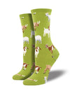 Women's Silly Billy Goats Socks