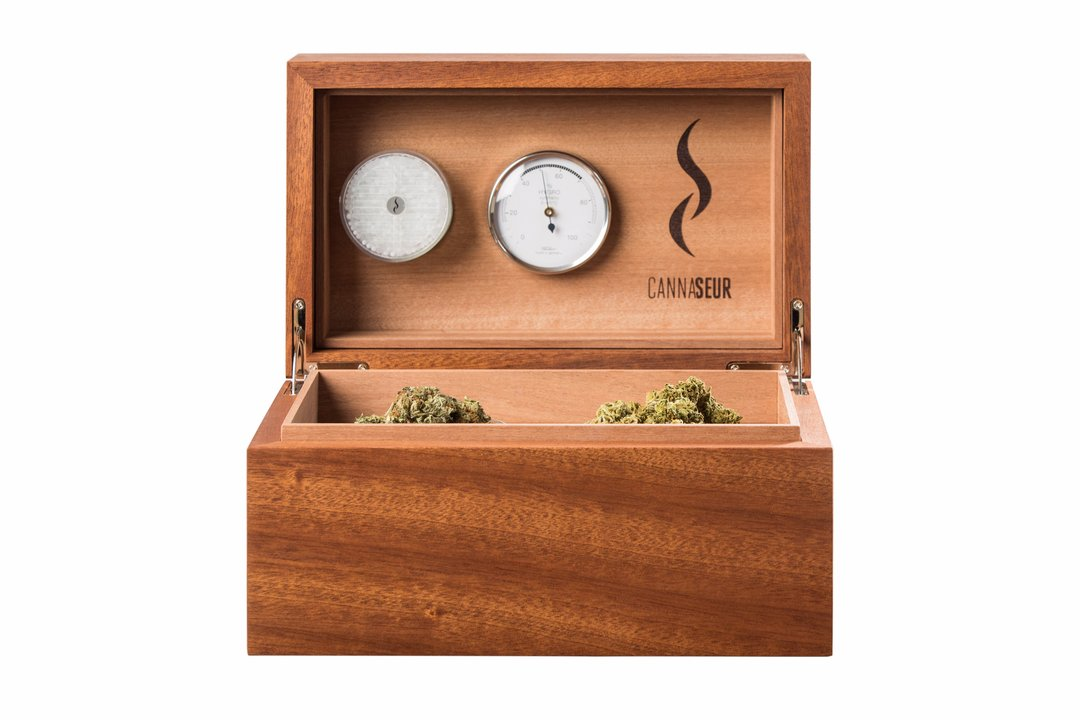 <b>Cannaseur</b> One Cannabis Humidor - 2 Jars no Lock