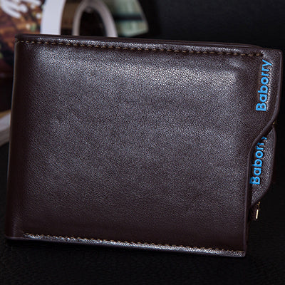 Wallets for Men with Coin Pocket Wallet ID Card holder Purse