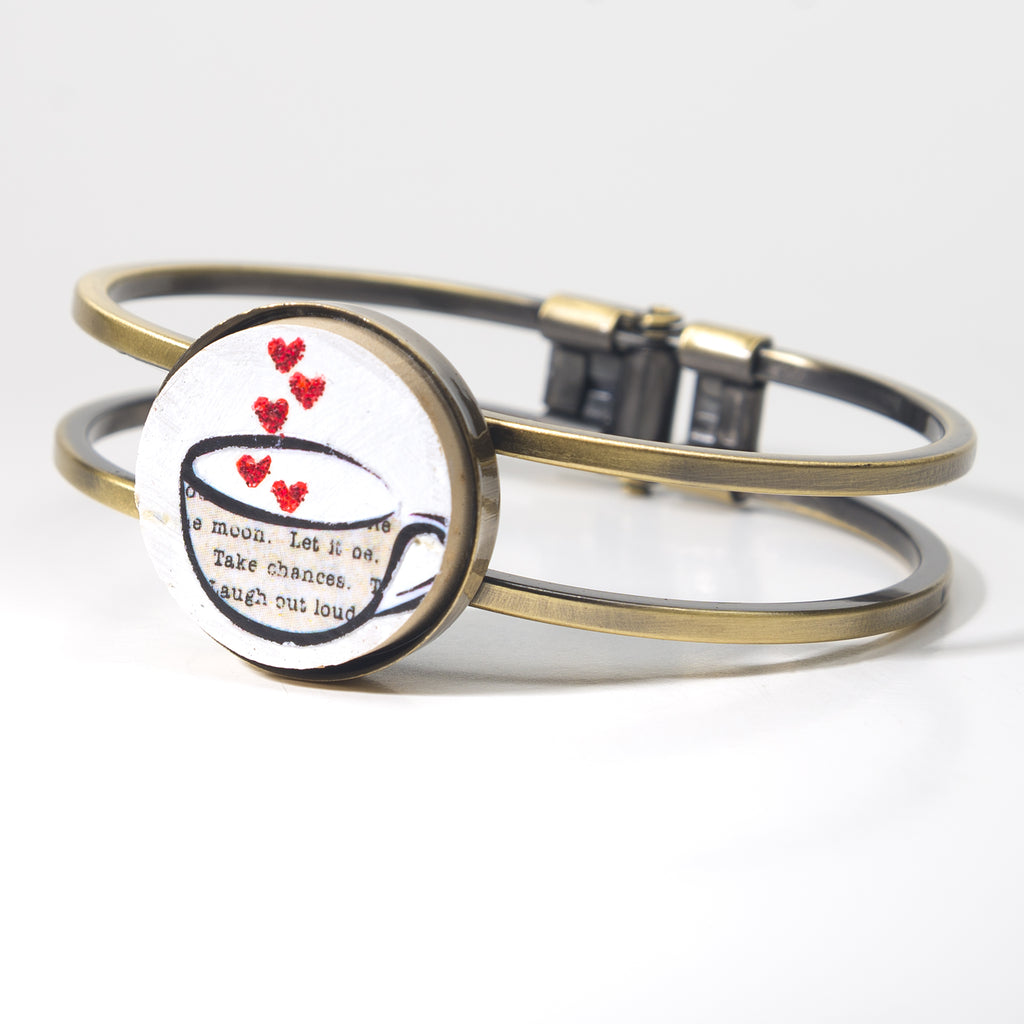 Love in a Cup Cork Bracelet - Cheeryos Jewelry