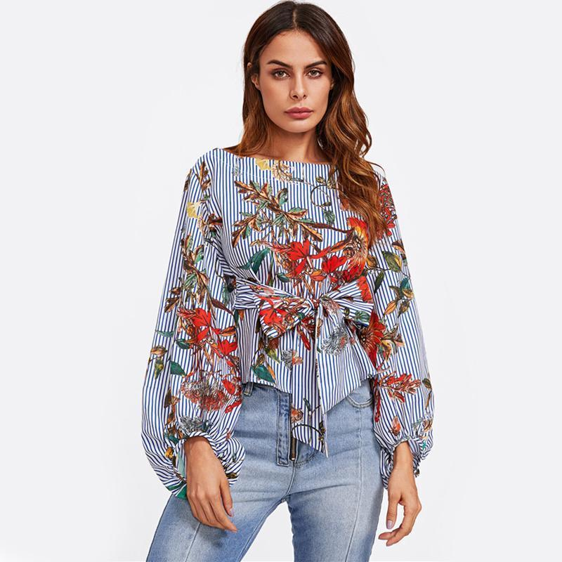 Floral Blouse - GoFashional Store