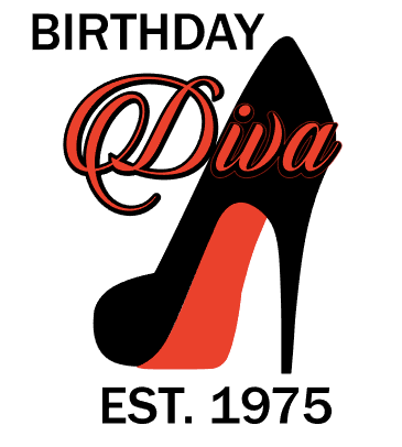 BIRTHDAY Diva Shoe Design Print for Women's Casual Dress - ME Customs, LLC