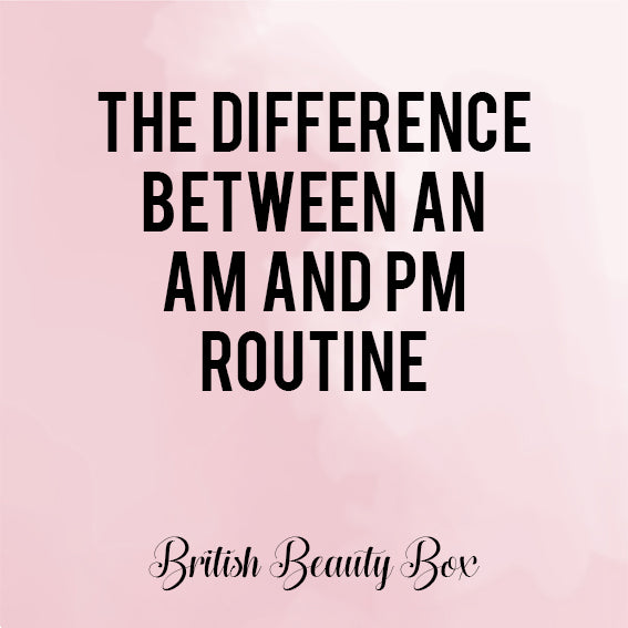 The Difference Between an AM and PM Routine
