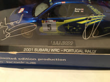 Load image into Gallery viewer, Prodrive Limited Edition 2001 Subaru WRC Portugal Rally 1:43 Scale