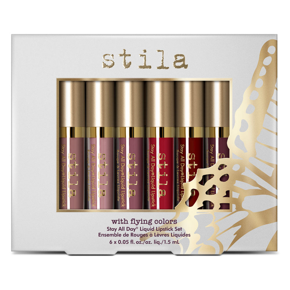 With Flying Colors - Stay All Day Liquid Lipstick Set