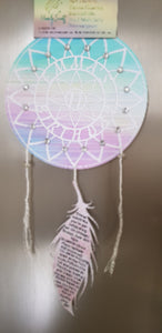 Dreamcatcher invitations - Homely Scents