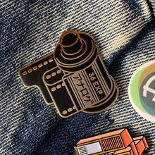 Load image into Gallery viewer, Analog Is Different 35mm Film Canister Enamel Pin-Film Bros