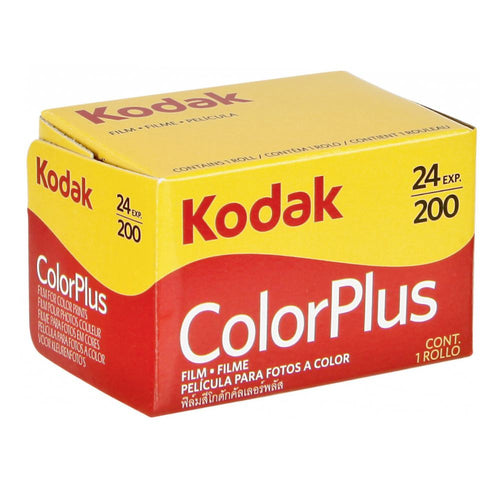 Kodak ColorPlus 200 35mm Film (24exp)-Film Bros