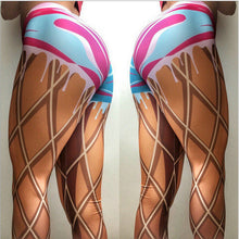 Load image into Gallery viewer, Drip-Drip Paint Yoga Pants | BigGymStore.com - biggymstore