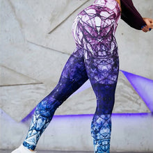Load image into Gallery viewer, Purple Diamond Yoga Pants | BigGymStore.com - biggymstore