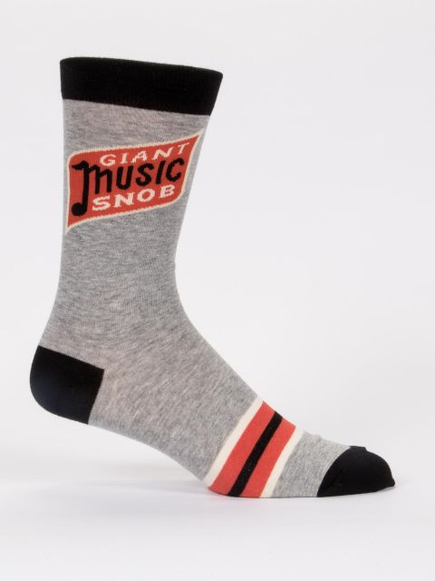 Men's Music Snob Sock