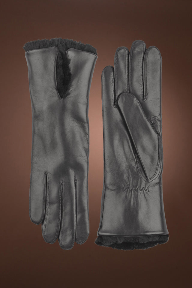 Women's Celine Orylag Leather Gloves