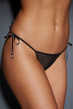 Embroidered & Beaded Lady Thong