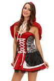Sweet Little Red Riding Hood Costume Dress