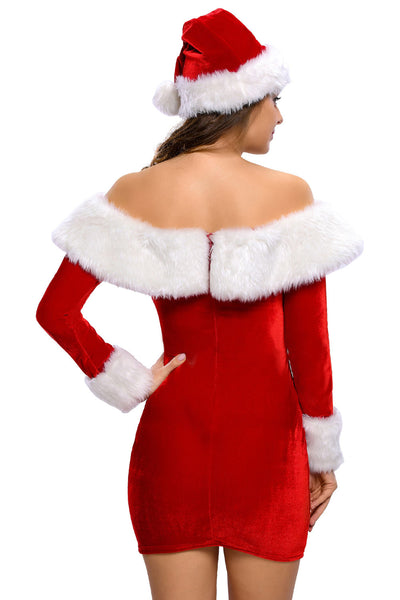Delightful Santa Sweetie Adult Costume