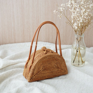 Martha Handwoven Rattan Bag Bali