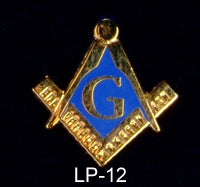 Blue Lodge Lapel Pin - Small