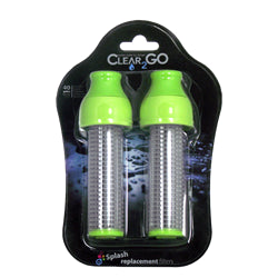 Clear2Go® Splash Replacement Filter 2 Pack - Green - CWF302GR