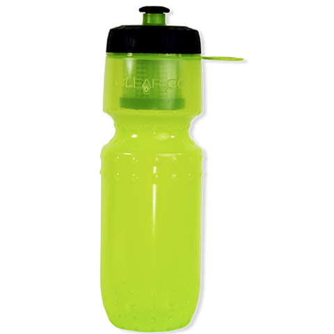 Clear2Go® Filter Sport Water Bottle Translucent - CWB200-TTLG