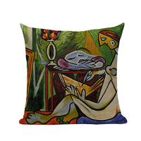 Cubism Artwork Inspired Cushion Covers - Art Store