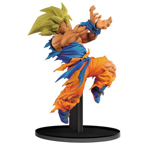 Banpresto World Figure Colosseum Super Saiyan Son Goku Statue