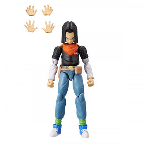 Dragon Ball Stars Android 17 Wave 10 Action Figure