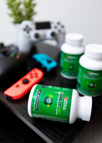 organic and natural gaming supplement and vitamin