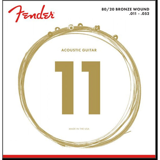 Fender Acoustic Guitar Strings .011