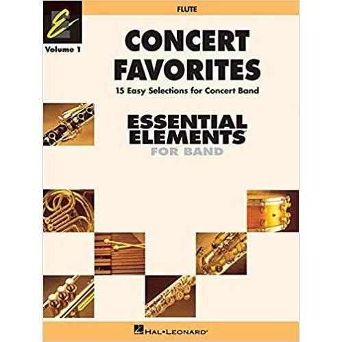 Concert Favorites Vol. 1 - Flute: Essential Elements 2000 Band Series