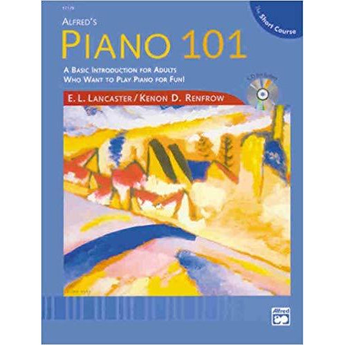 Alfred's Piano 101 the Short Course Lesson, Bk 1: Book & CD