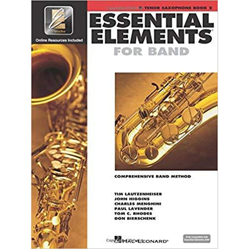 Essential Elements for  Band Bb Tenor Saxophone- Book 2