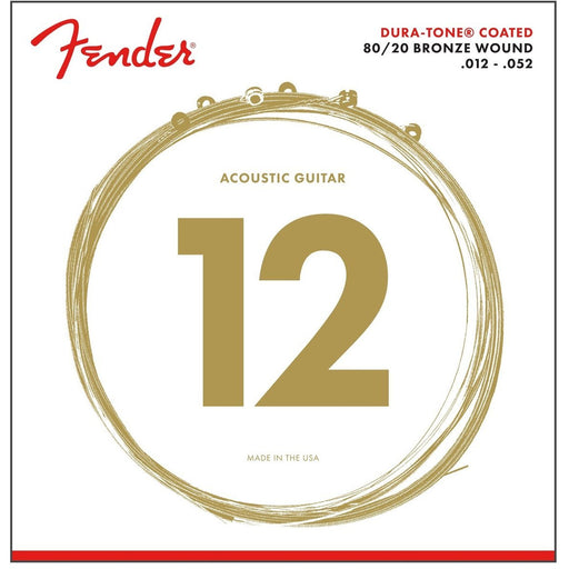 Fender Acoustic Guitar Strings. 12