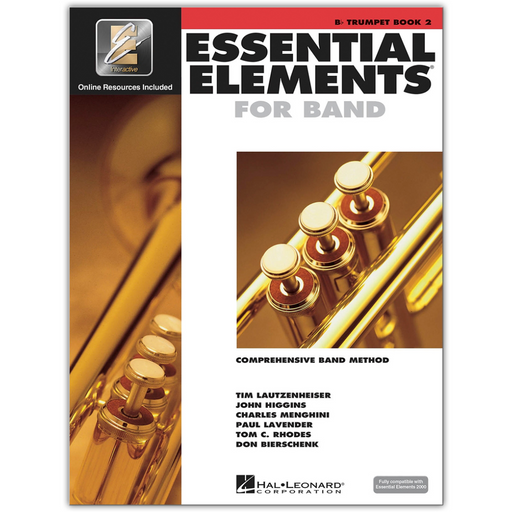 Essential Elements for Band - Bb Trumpet Book 2