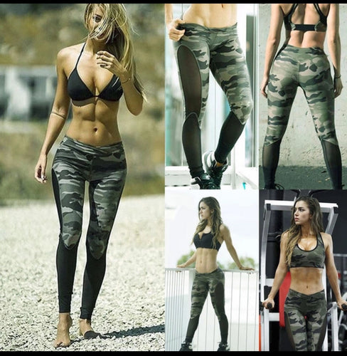 Woman's Camo leggings