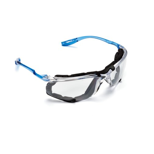 3M 11872 3M Virtua CCS Protective Safety Glasses with Foam Gasket Clear Lens